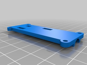 Casing for Ubertooth One network tool.