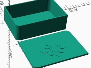 Box with Rounded and Square Corners