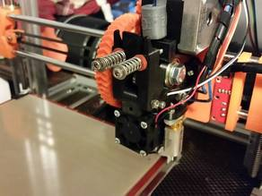 E3D V6 Wades Extruder - BL Touch Mount
