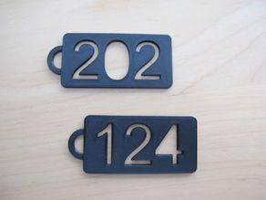Mercedes W124 W202 keychains