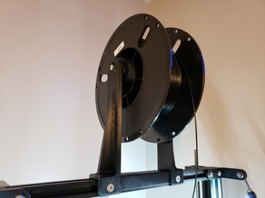 Centered Top Mount Spool Holder for Geeetech A30 and CR-10 style printers.