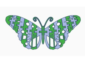 Flexi Butterfly (Dual Extrusion)