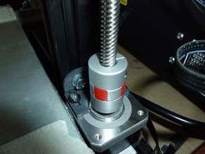 CR-10 Z axis stepper motor adjustable bracket
