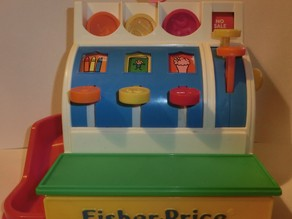 Coins for Fisher Price cash register (scaled)