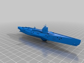 I-401 Sen-Toku class submarine