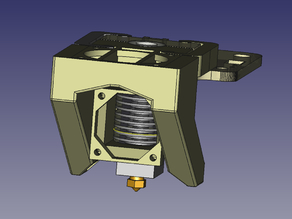 Tevo e3d Mount holder with Fan duct