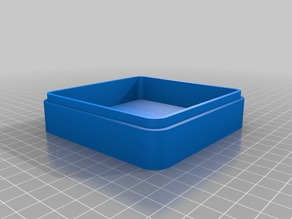 Silica Gel Box with Lid