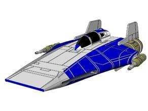 SW - RX-1 A-Wing - Ver3 1:72