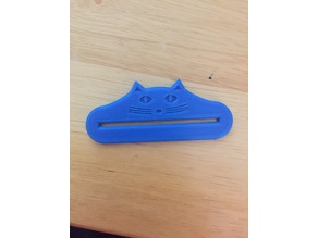 Cat Mouth Toothpaste Squeezer