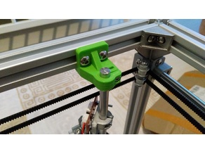Redesigned HyperCube z-axis shaft clamp