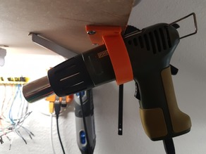 Proxxon MH550 heat gun holder