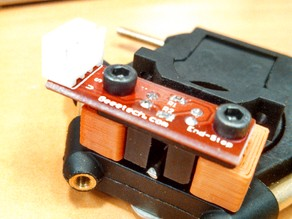 Kossel effector autoleveling with optical switch.
