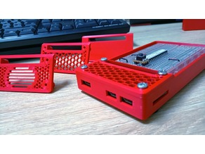 Raspberry pi Zero breadboard case