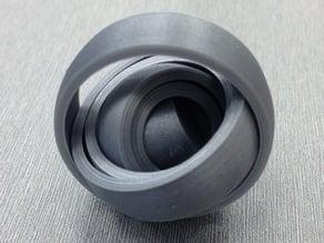 Interlocked rings toy