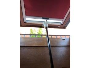 Top for telescopic pole to open skylight (dormer window) / Aufsatz für Teleskopstange um Dachfenster zu öffnen