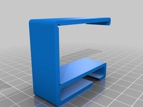 Desk cable holder