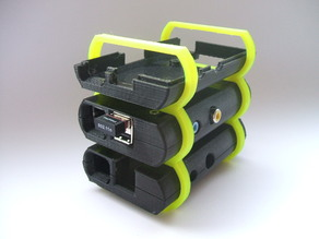 Raspberry Pi Case Stackable