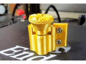 Adjustable Z-endstop remix for Creality printers