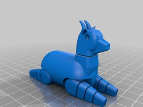 Goat (movable legs)