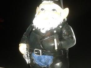 Harley Davidson Motorcycle Biker Yard Gnome!