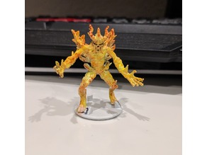 Gloomhaven Monster: Flame Demon