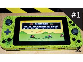 Projeto ANARC console portátil com Raspberry PI
