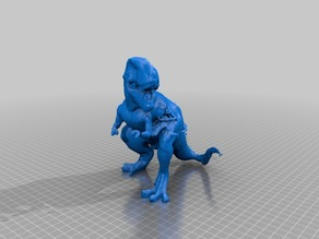 T-REX Makerbot Digitizer Scan