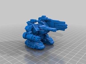 Modular Mech Heavy Gun Set