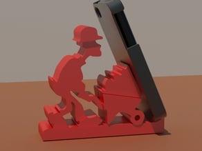 smartphone holder -construction worker