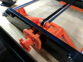 Anet A8 upgraded Y-axis tensioner arms for toothed idler