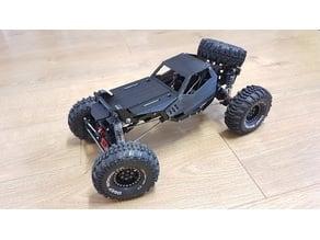 RC crawler, WLtoys/Axial SCX10