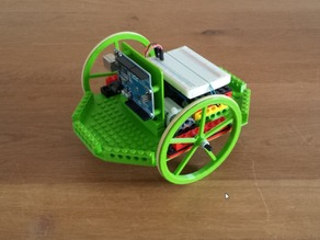 modular platform to experiment with arduino on a lego motor based robot platform.