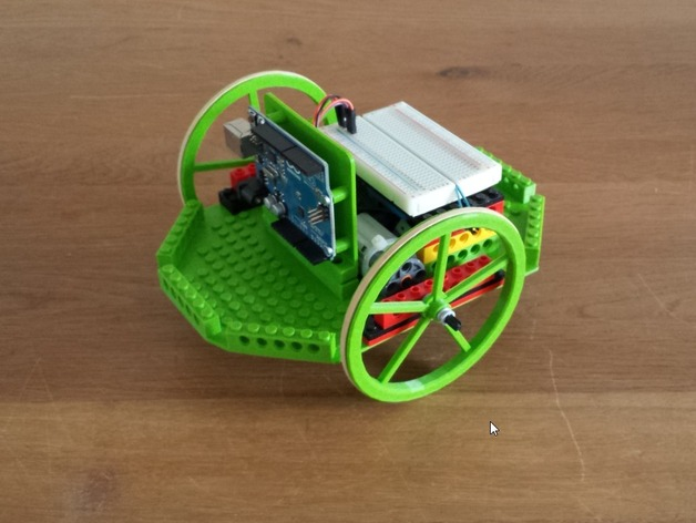 Modular platform to experiment with arduino on a lego