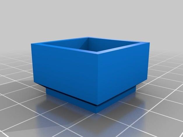 My Customized Parametric furniture foot extender by cornelius_keller