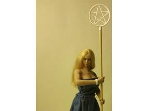 1/6 Scale Pentagram Staff Topper