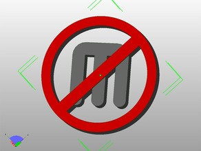 Anti-Makerbot Logo
