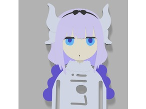 Kanna Kamui - Book Mark - Kobayashi Maid Dragon