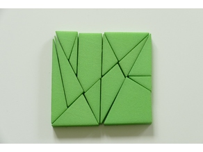 Archimedes Puzzle (Tangram-like)