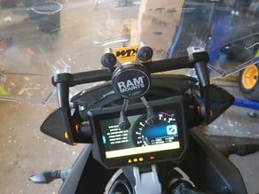 KTM super adventure 1290 X-grip phone holder