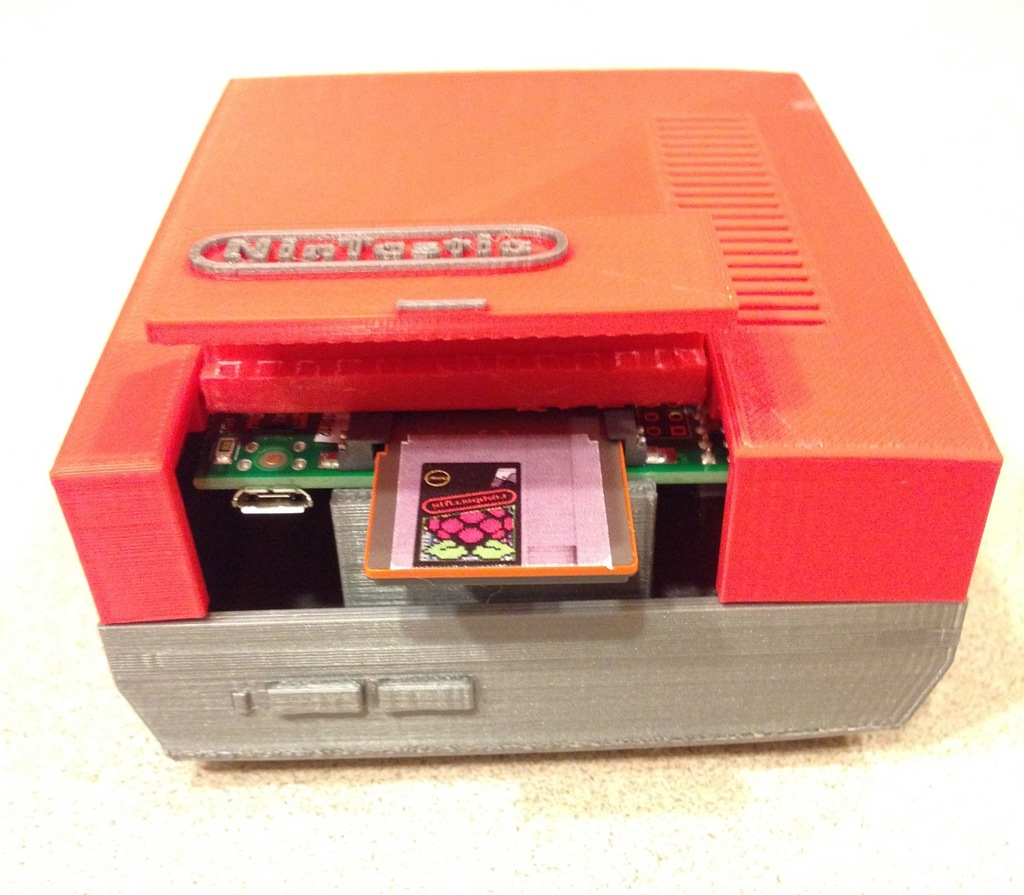 NinTastic - Nintendo Style Case for the Raspberry Pi by