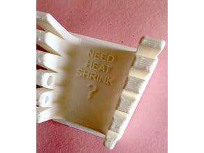 Solder Fingers LED and Heat Shrink Reminder