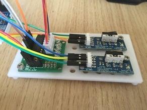 Arduino / Pi small sensor mounting plate