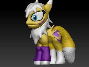 Renamon Pony Toy