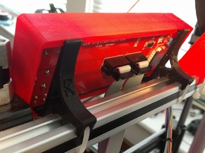 RepRapDiscount Smart LCD Controller Bracket for 2020