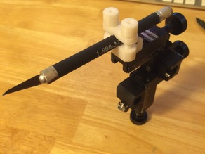 Clamp for Narishige micromanipulator