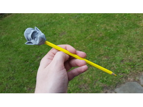 Chase (Paw Patrol) pencil top