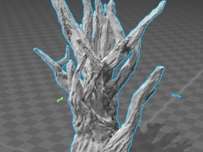 High Detail Spooky Tree
