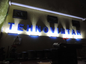 Tehnovintar 3D logo