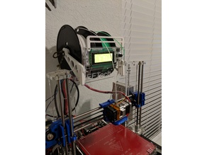 Filament Guide Bar for Geeetech i3 Acrylic