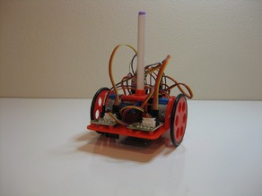 Arduino Chassis for Drawing Robot modified for ULN2003 Stepper Driver Boards
